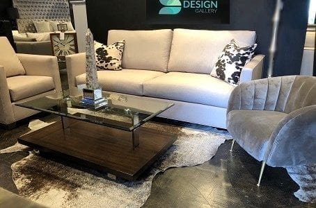 CL-L-DAFFNEY SOFA SET WITH LOGO