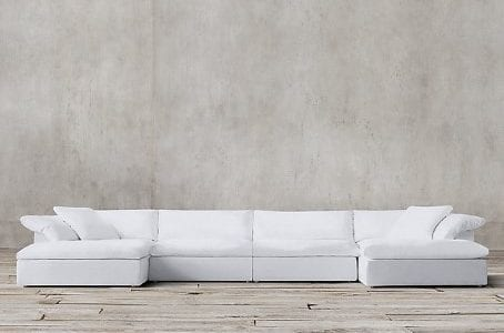 resto cloud 6 pc sectional